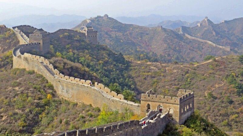 Große Mauer in Jinshanling © Diamir