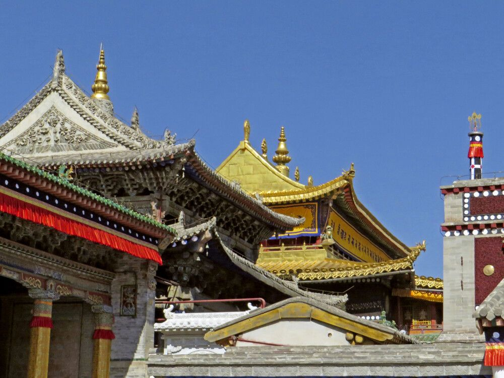 Kloster Kumbum in Xining