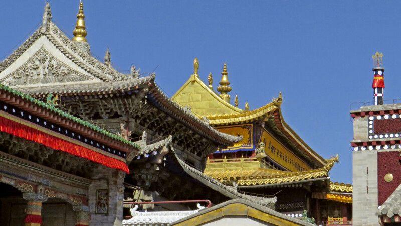 Kloster Kumbum in Xining © Diamir