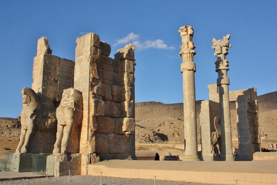 Rundgang in Persepolis