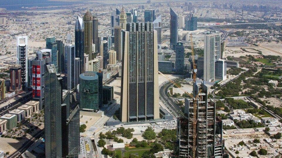 Blick vom Burj al Khalifa