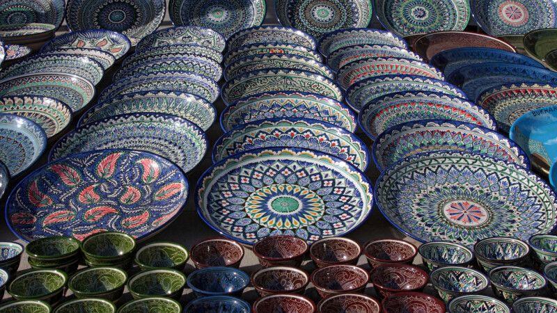 Keramik aus dem Ferganatal © Diamir