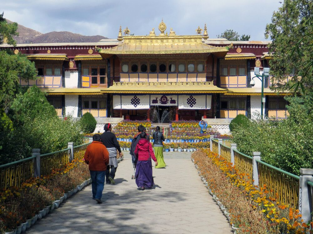 Norbulingka – Sommerpalast des Dalai Lama