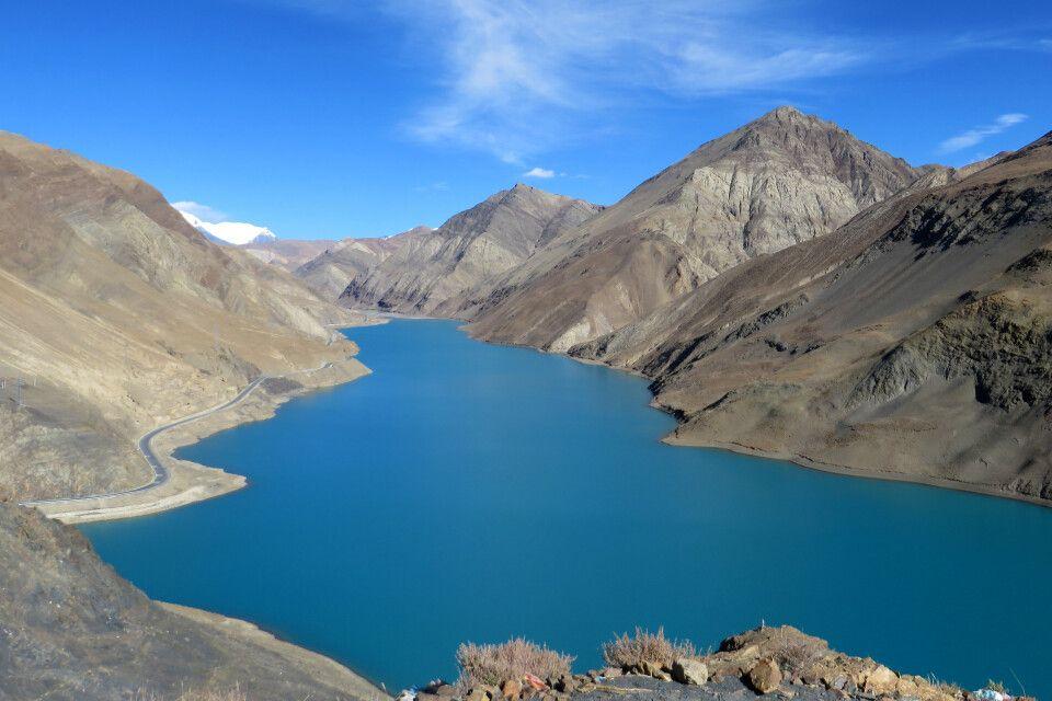 Stausee zwischen Lhasa und Gyantse