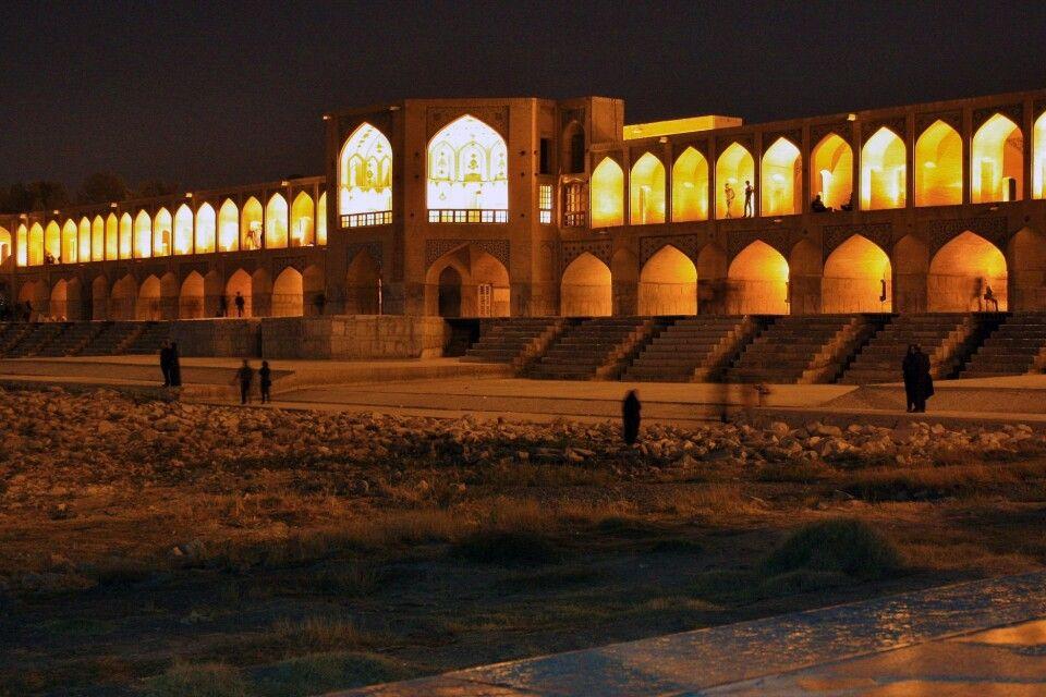 Khaju-Brücke in Isfahan