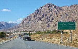 Auf der Fahrt nach Shiraz