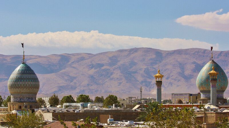 Blick über Shiraz © Diamir
