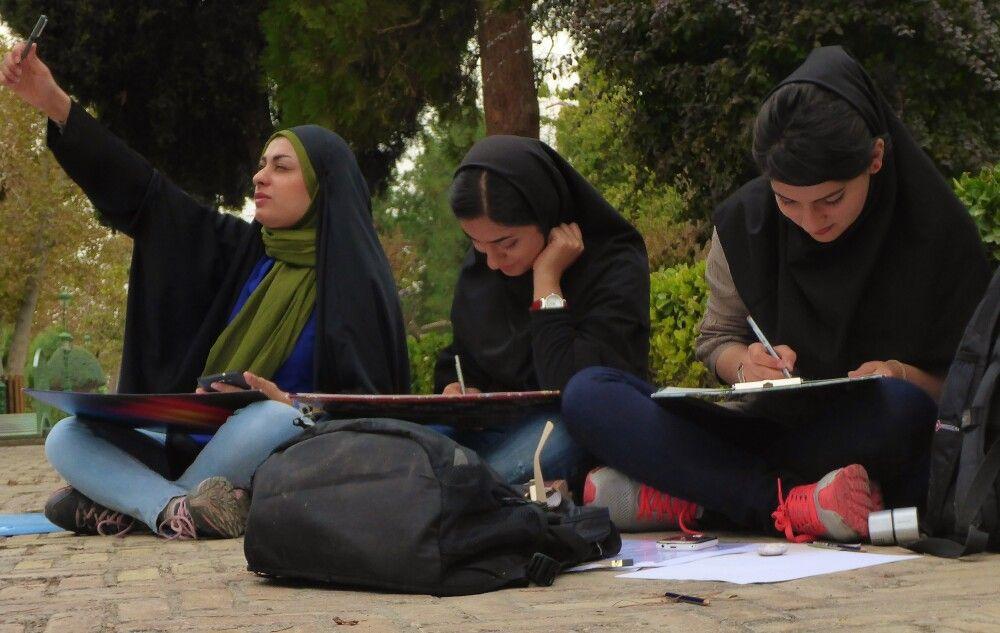 Studentinnen in Teheran