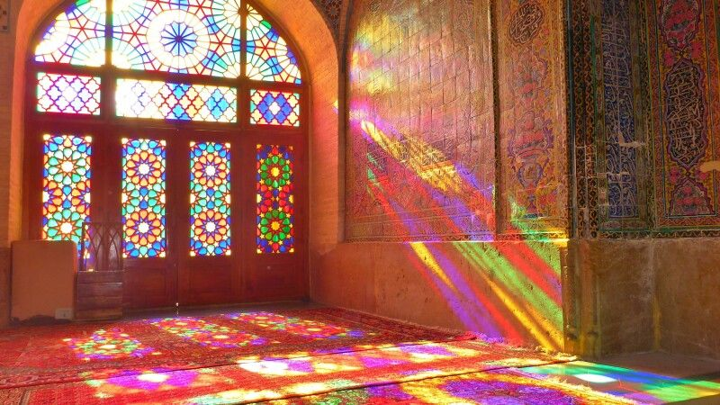 Nasir-ol-Molk-Moschee in Shiraz © Diamir