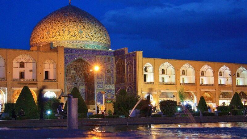 Scheich-Lotfollah-Moschee Isfahan © Diamir