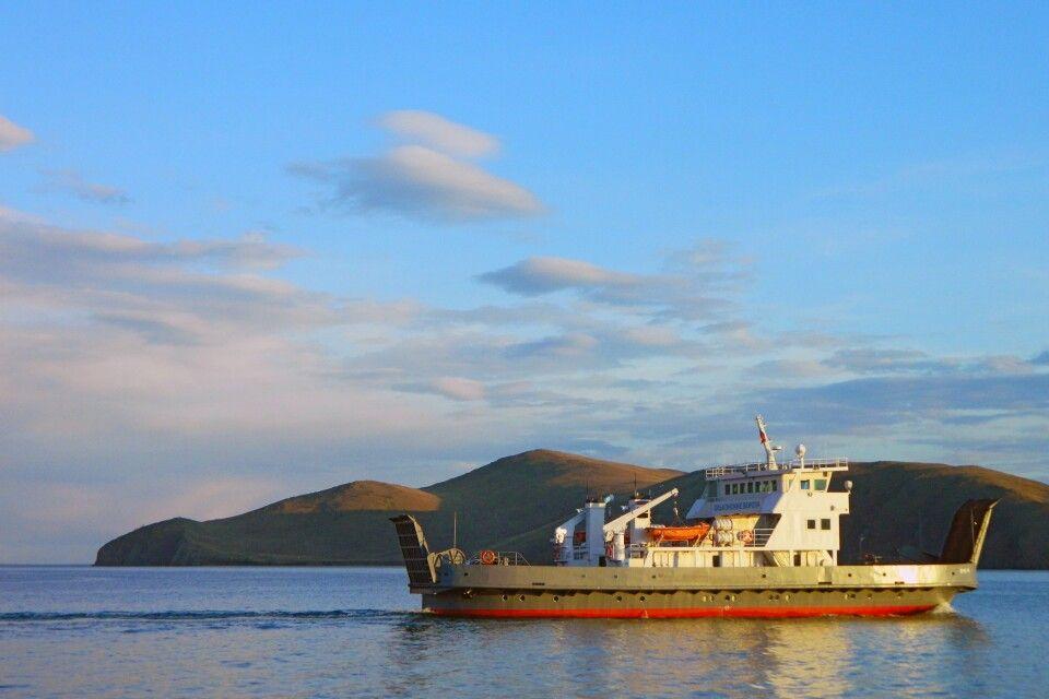 Fähre auf dem Baikal