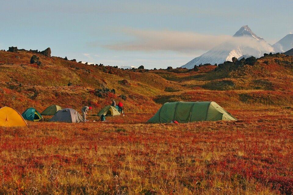 Lager in der Hochtundra