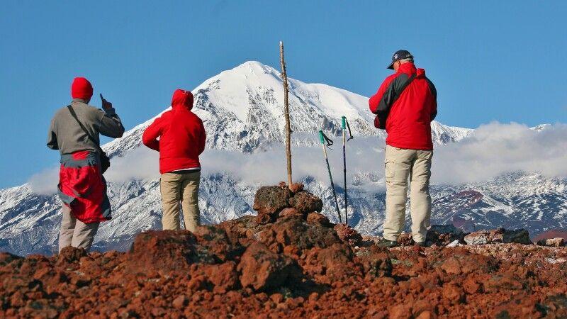 Ausblick zum Tolbatschik © Diamir