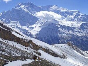 Abstieg Kang-La-Pass