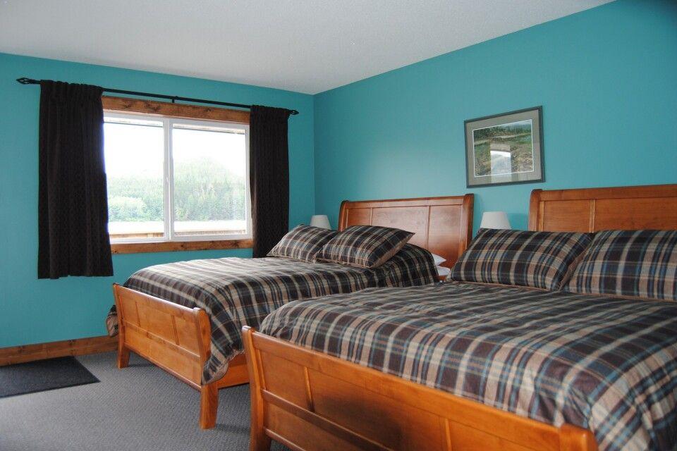 Zimmer in der Knight Inlet Lodge