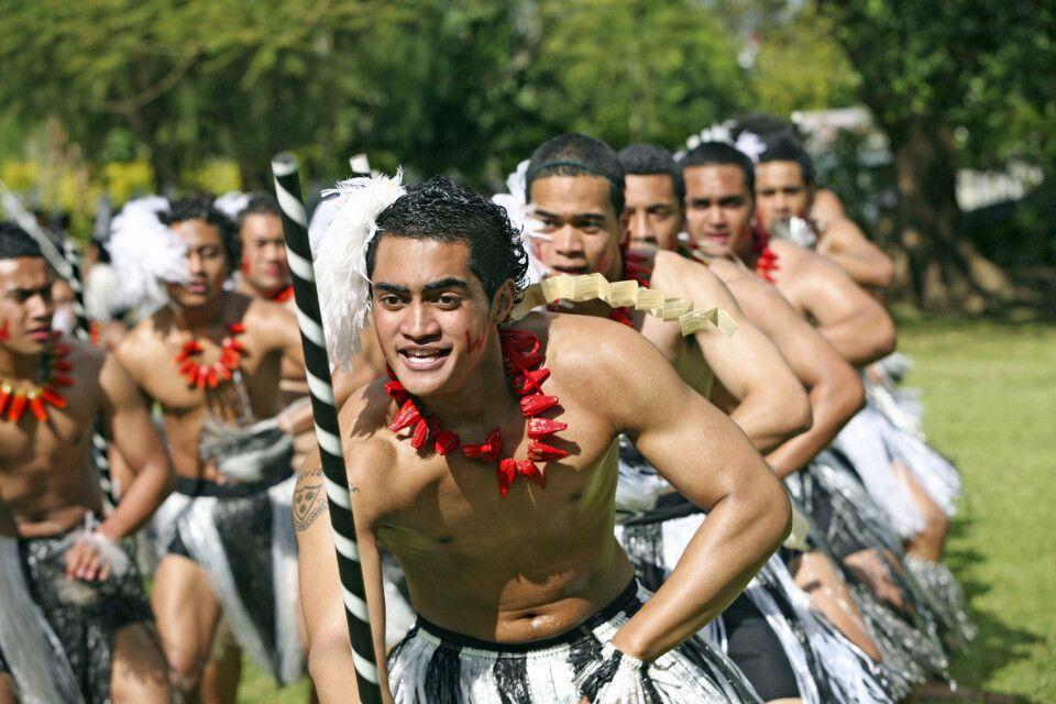 Tonganer beim Tanz