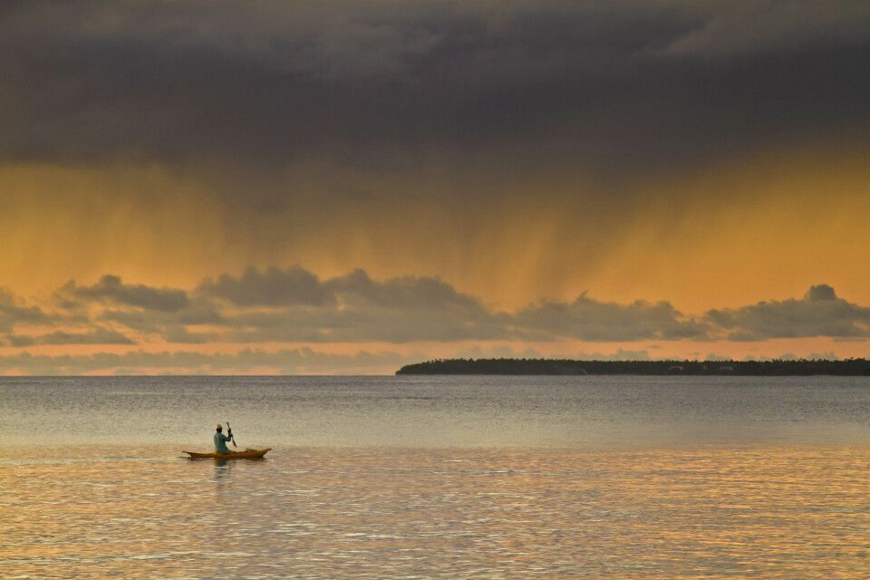 Sonnenuntergang auf Tonga