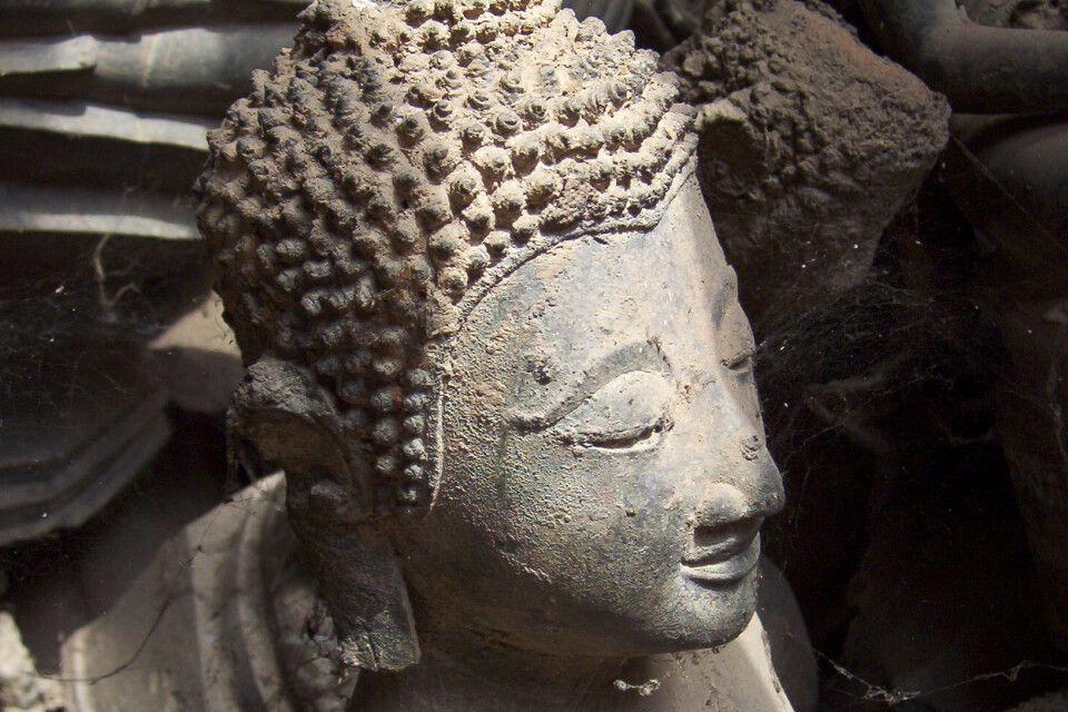 Tempeldetail in Luang Prabang