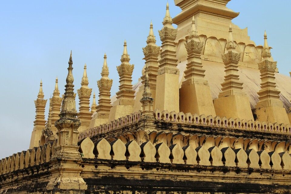 That Luang in Vientiane – Detail
