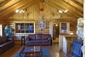 Lounge in der Lazy Bear Lodge