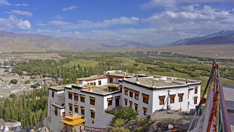 Kloster Spituk, Blick ins Industal nach Südosten © Diamir