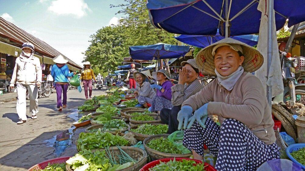 Markttreiben in Vietnam