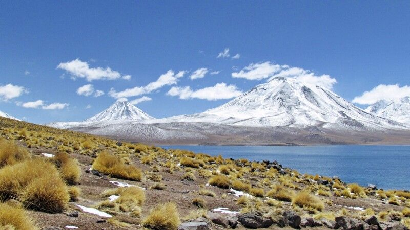 Vulkan und Lagune Miscanti © Diamir