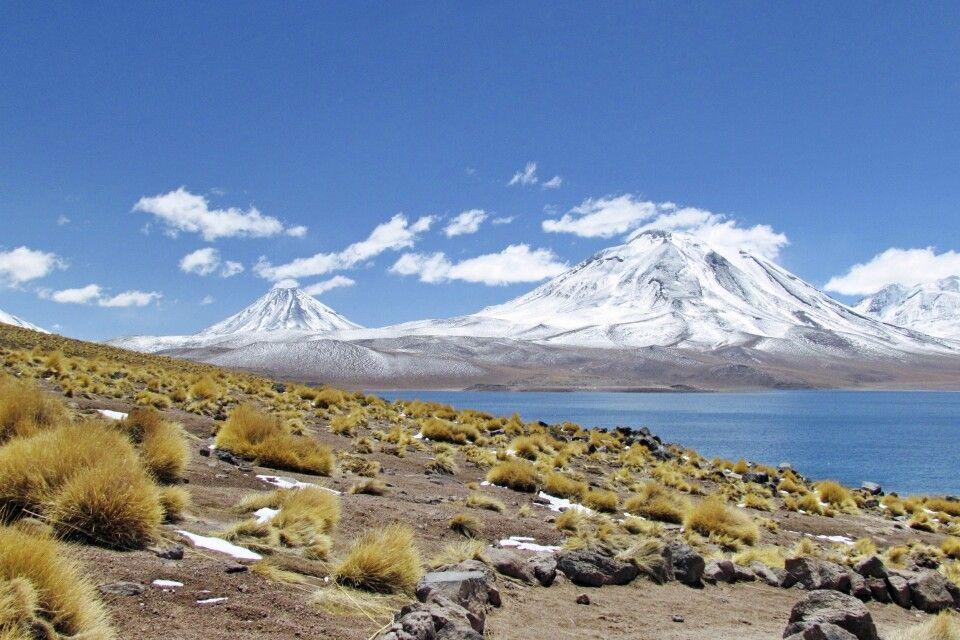 Vulkan und Lagune Miscanti
