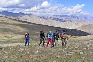 Aufstieg zum Kongmaru La (5130m)