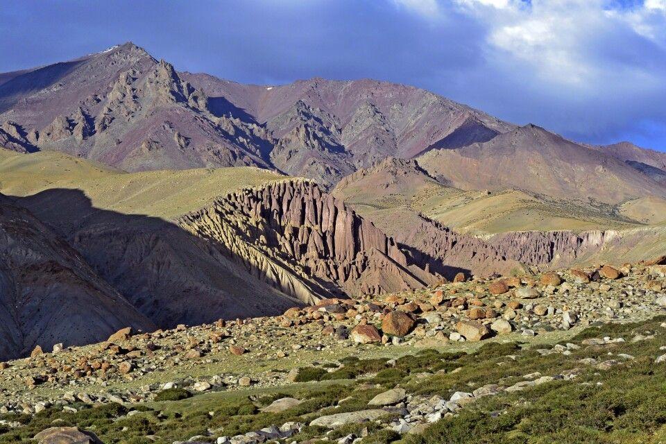 Markha Valley Trek, oberhalb Camp Thachungtse (4400m)