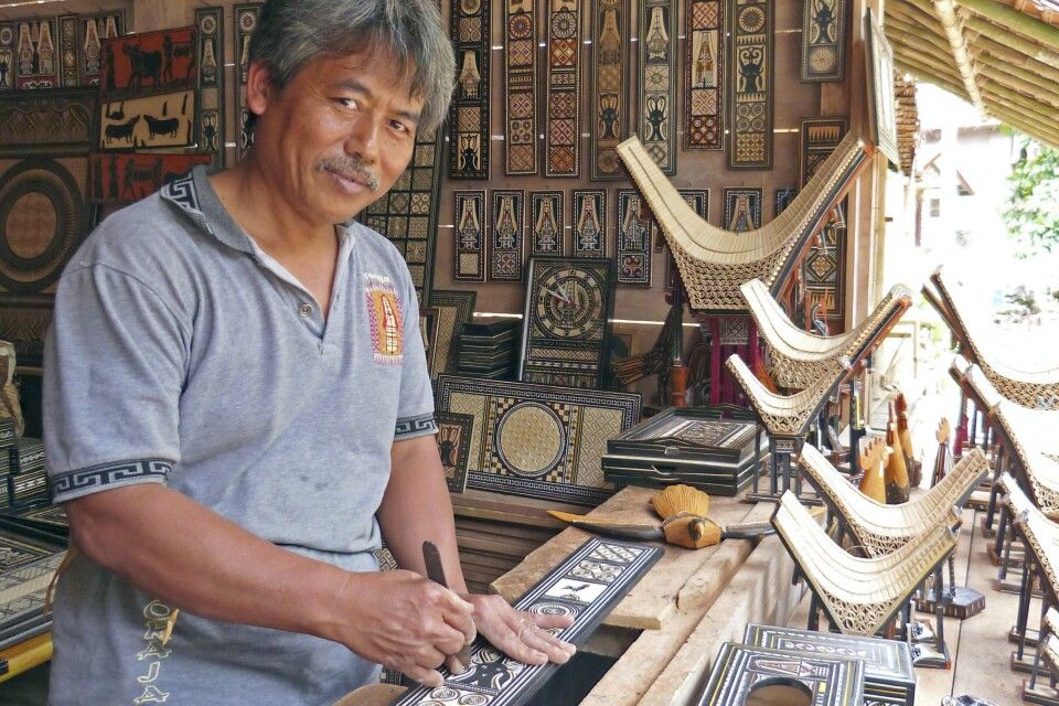 Kunstarbeit in Toraja