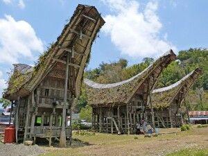 Tongkahan-Häuser