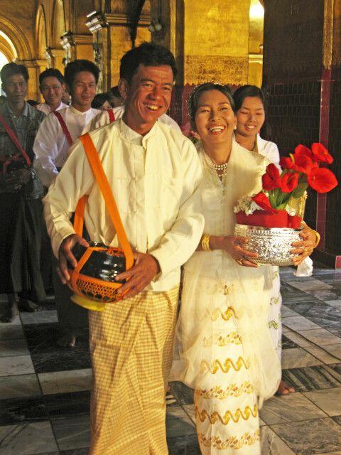 Hochzeit in Myanmar