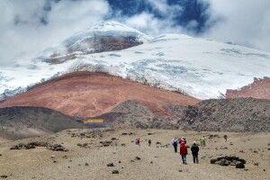 Cotopaxi (5897m) – Weg zur Schutzhütte (4800m)