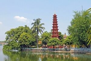 Tran-Quoc-Pagode in Hanoi