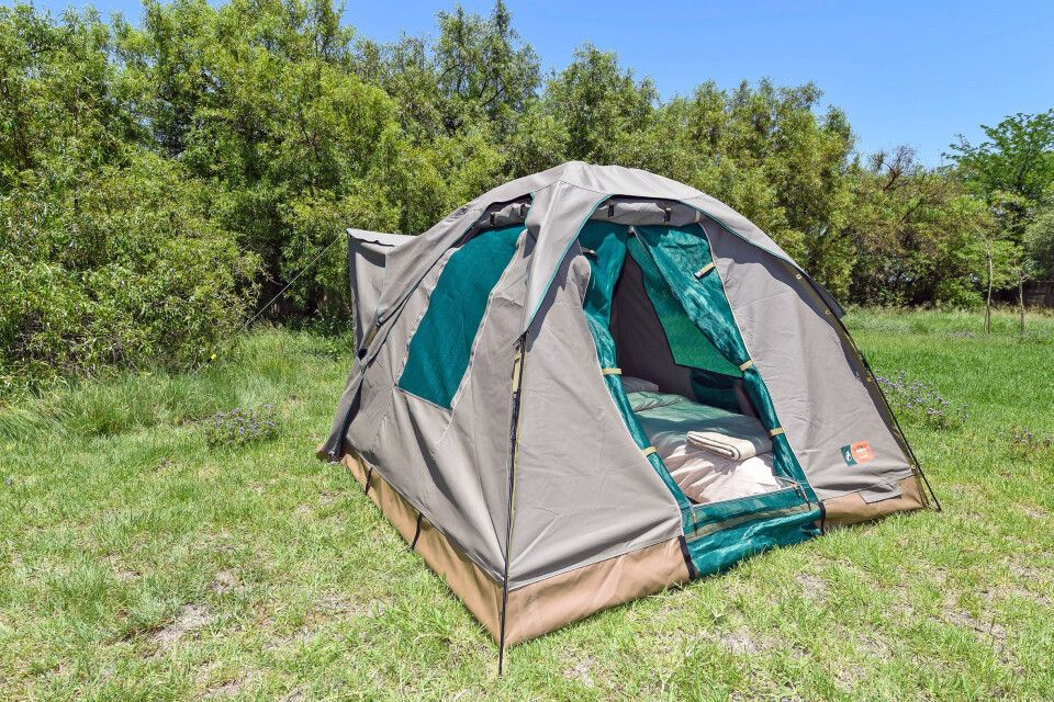 Safari-Zelte im Okavango-Delta