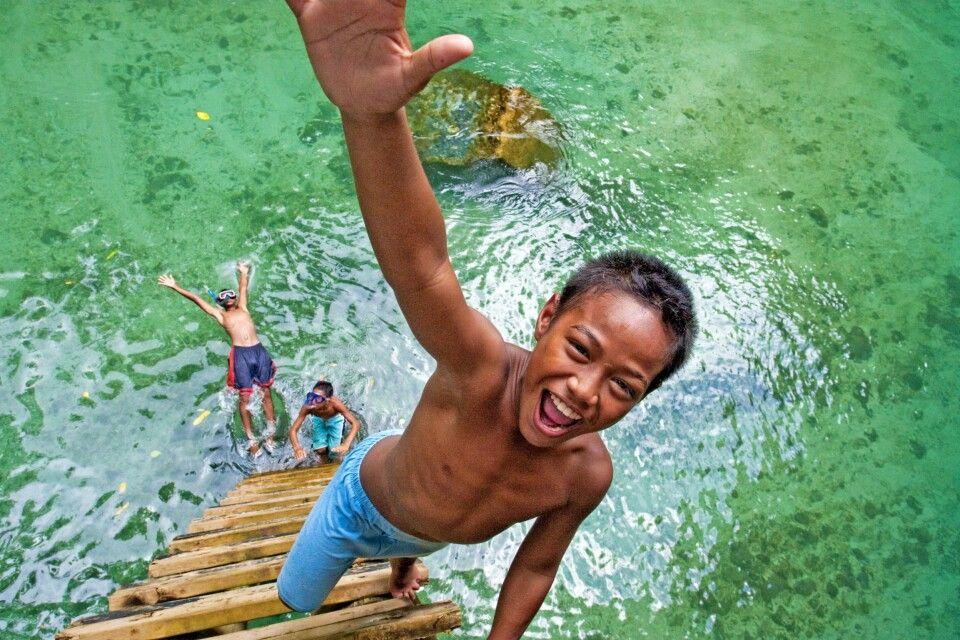 Kinder auf Samoa