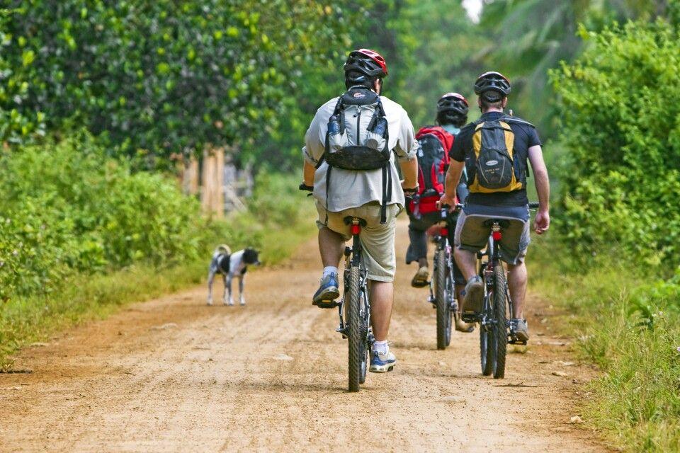 Radfahren in Chi Phat