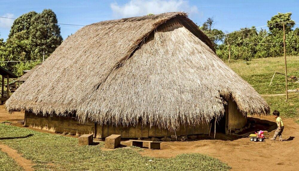 Hütte in Mondolkiri