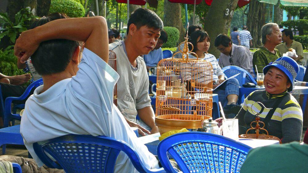 Fachgespräch der Singvogelspezialisten