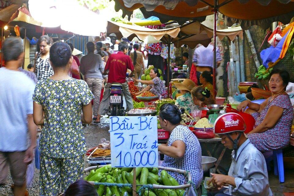 """auf einem """"Wet Market"""""""