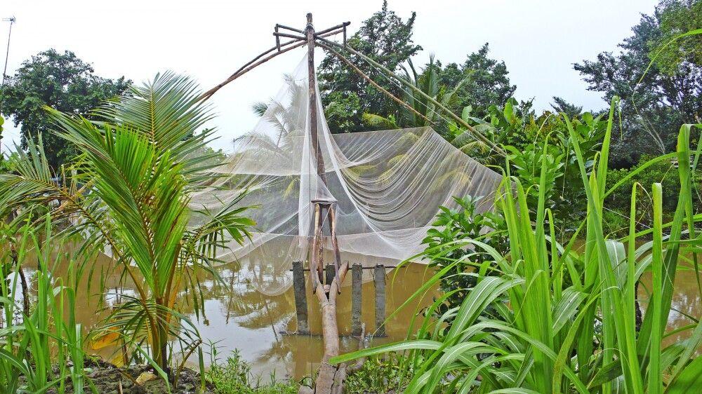 Fischfang im Mekongdelta