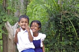Kinder in Sri Lanka