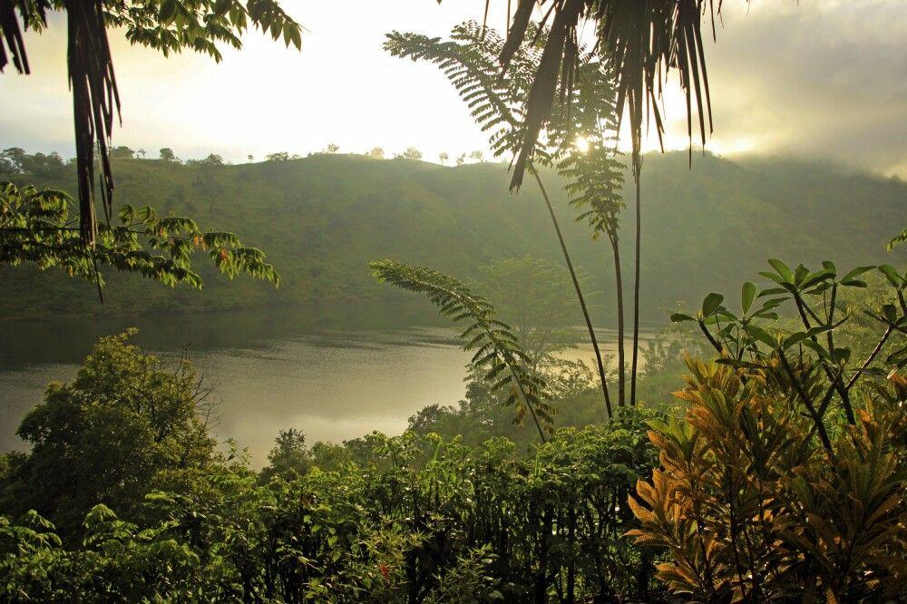 Tamarind Gardens Ausblick vom Chalet