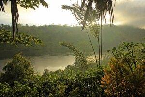 Tamarind Gardens - Ausblick vom Chalet