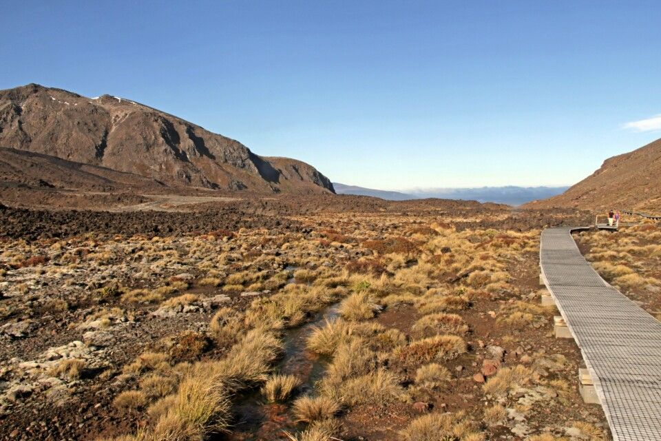 Tongariro alpine Crossing auf der Nordinsel