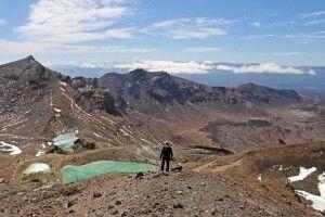 Spektakuläre Vulkanlandschaften beim Tongariro Alpine Crossing auf der Nordinsel
