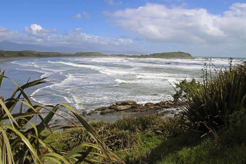Rauhe Westküste der Südinsel