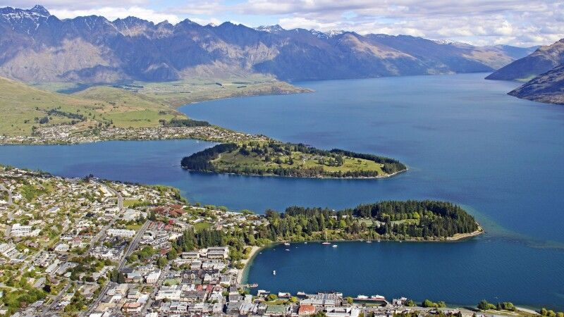 Queenstown. Heimliche Outdoor- und Funsport-Hauptstadt Neuseelands © Diamir