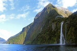 Die Stirling Falls im Milford Sound